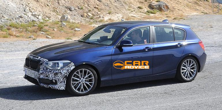 BMW 1 Series Facelift Spied - 4