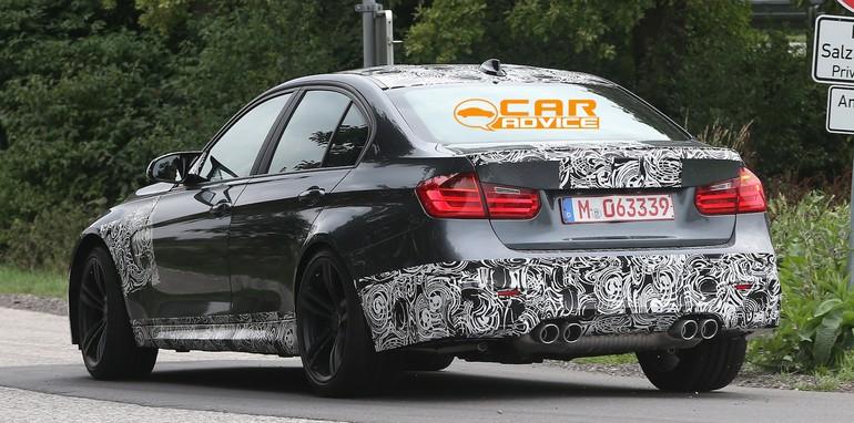 BMW M3 Spied - 7