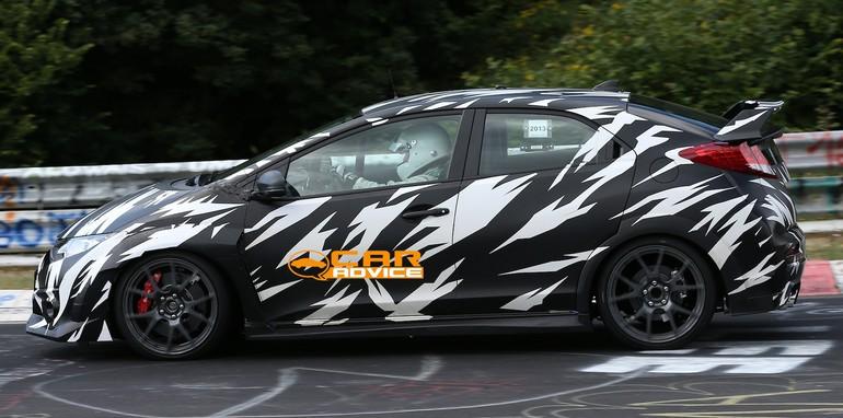 Honda Civic Type-R Spied - 16