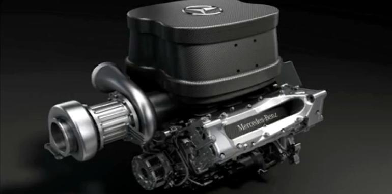 Mercedes AMG 2014 F1 Engine - 2