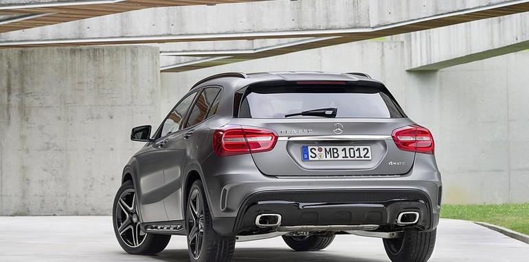 Mercedes-Benz GLA official leak 7