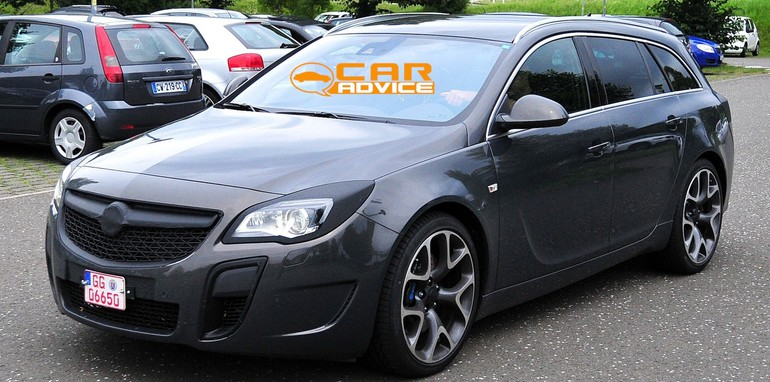Opel Insignia OPC Wagon Spied - 3