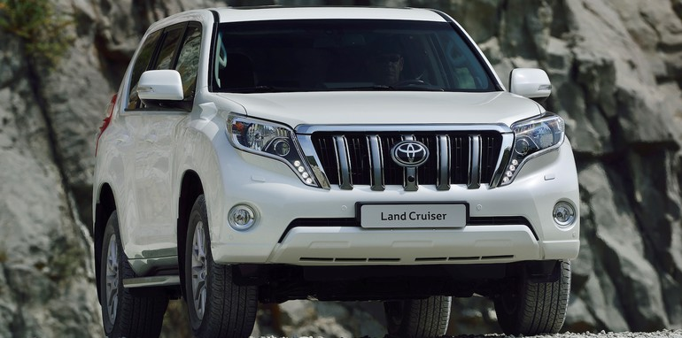 Toyota Land Cruiser Prado Facelift - 2