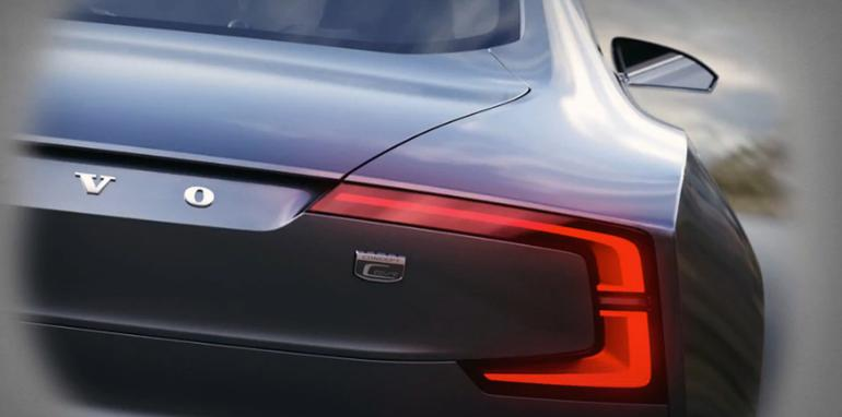 Volvo Coupe Concept Teased - 2