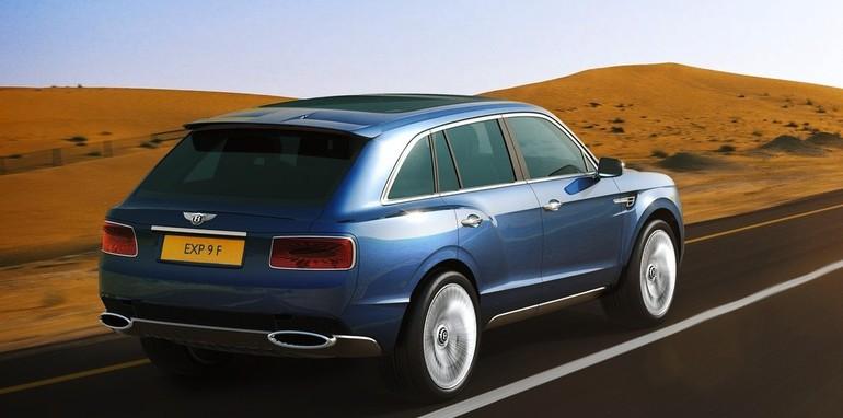 Bentley EXP 9F Concept - 3