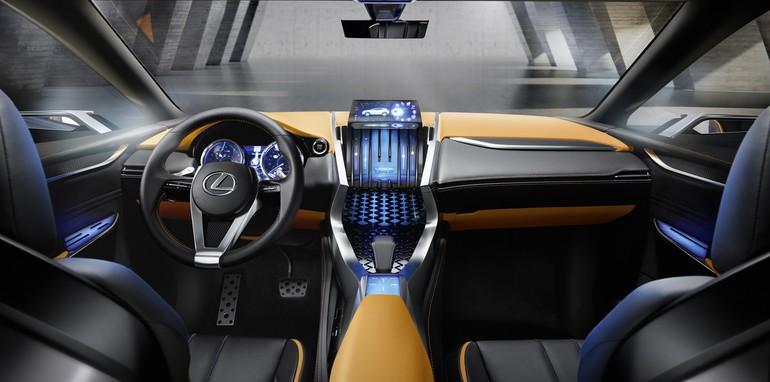 Lexus LF NX concept interior