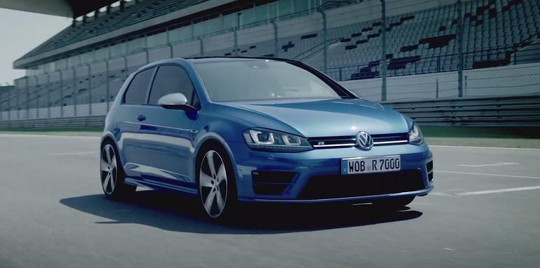 Volkswagen Golf R On Track