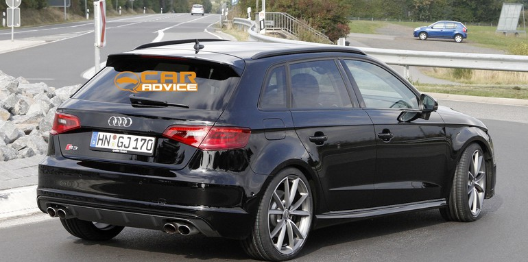 Audi RS3 Spied - 6