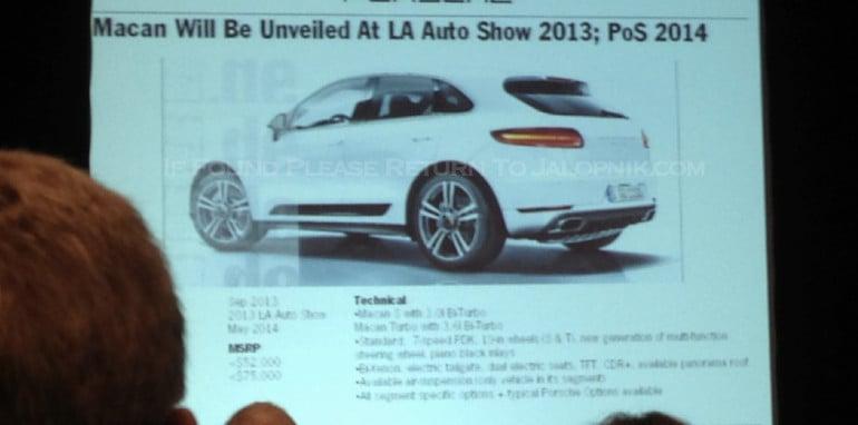 Porsche leaked slides - 3