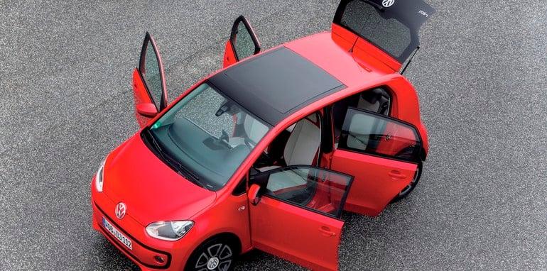 Praesentation des Volkswagen up! Viertuerer in Wolfsburg, 25.- 27.01.2012/Der neue Volkswagen up! (Viertuerer)