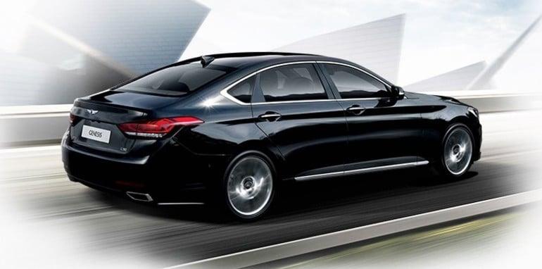 2014 Hyundai Genesis driving