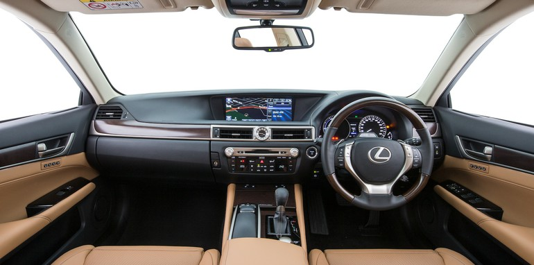 5. GS 300h Sports Lux (prepoduction model)