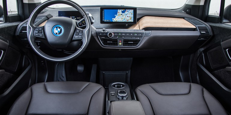 BMW i3 interior wide