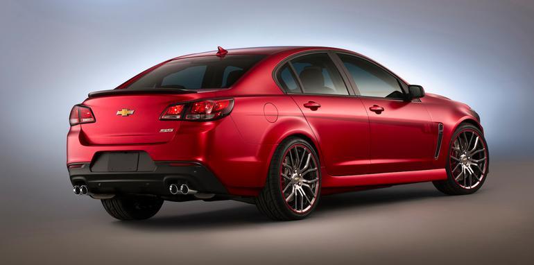 Jeff Gordon SS performance sedan concept