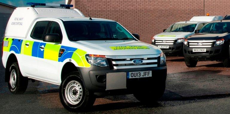 Ford Ranger UK Military - 1