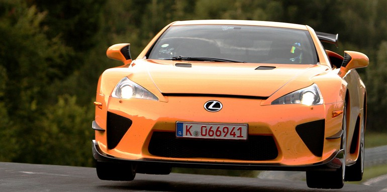 Lexus LFA sets 7:14.64 sec Nurburgring Lap (overseas model shown)