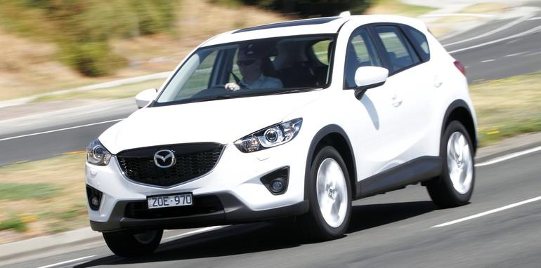 Mazda CX-5 front 3q driving