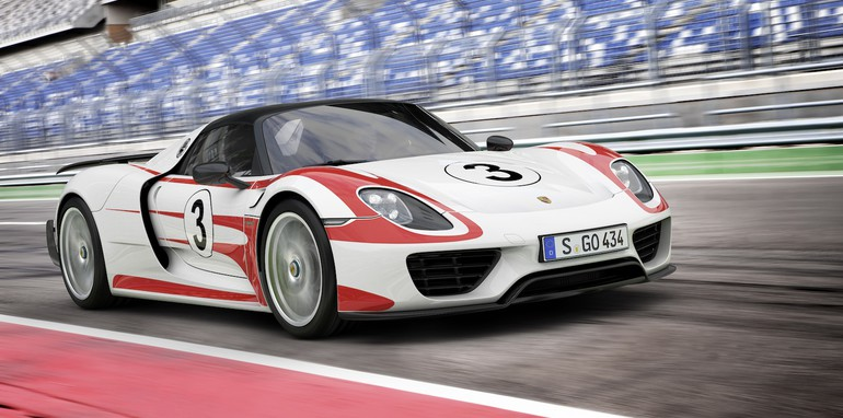 Porsche 918 Weissach Package - 2