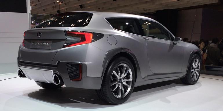 Subaru Cross Sport side rear