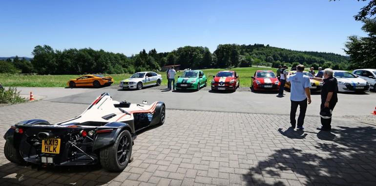 The Nurburgring expreinece: Renualt Megane RS26507