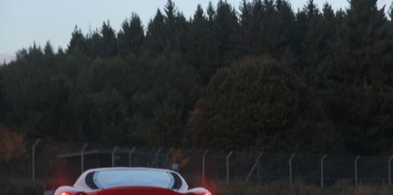 The Nurburgring expreinece: Renualt Megane RS26544