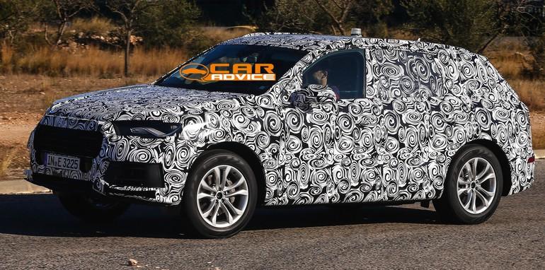2015 Audi Q7 Spied - 2