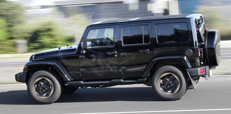 Jeep Wrangler Dragon Limited Edition Launched