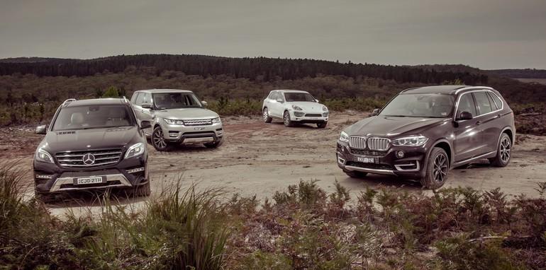 Luxury SUV Comparison 1