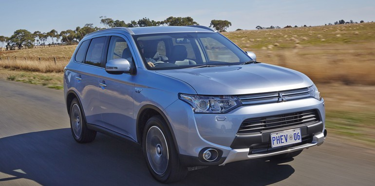 mitsubishi outlander phev on sale from 47490
