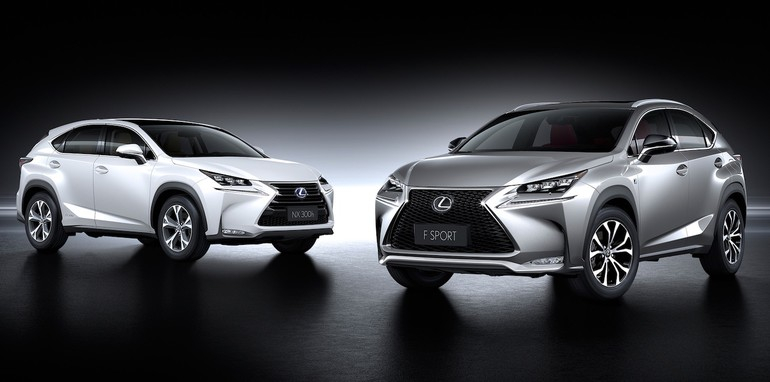 lexus nx officially revealed nx nxt nxh variants confirmed