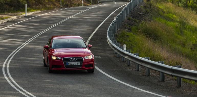Audi A3 sedan v Mercedes-Benz CLA-Class-6