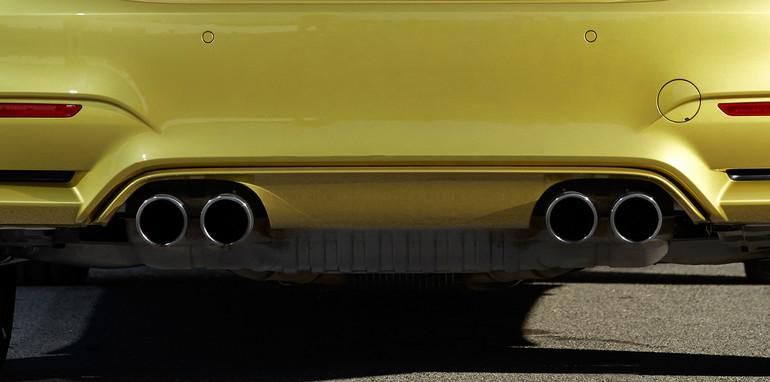 BMWM4Exhaust