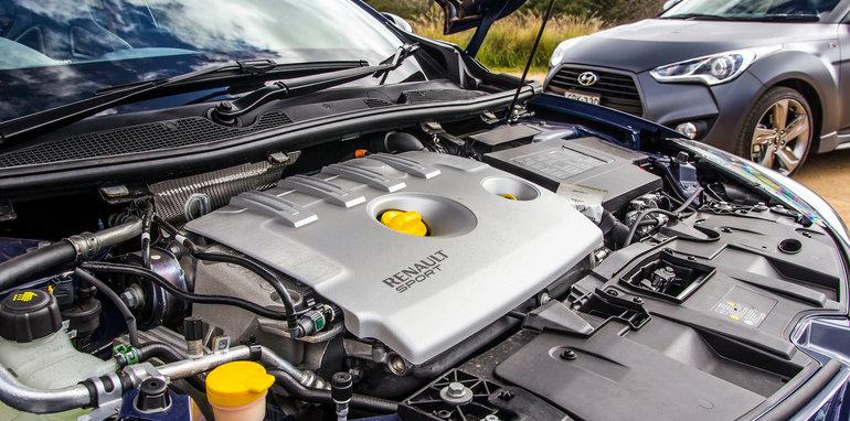 Renault Sport Megane Kia Proceed GT Hyundai Veloster SR Turbo-10