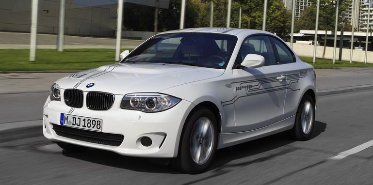 BMW ActiveE on the road