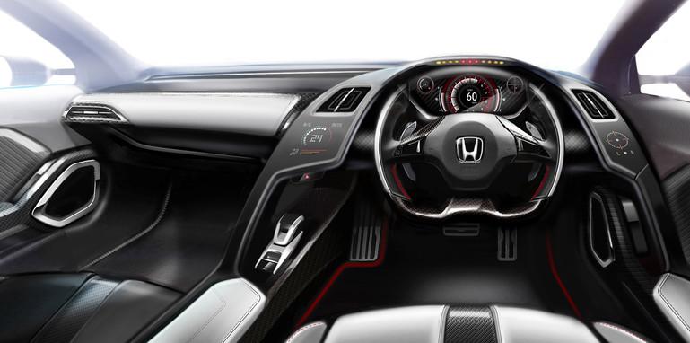 Honda S660 Concept interior