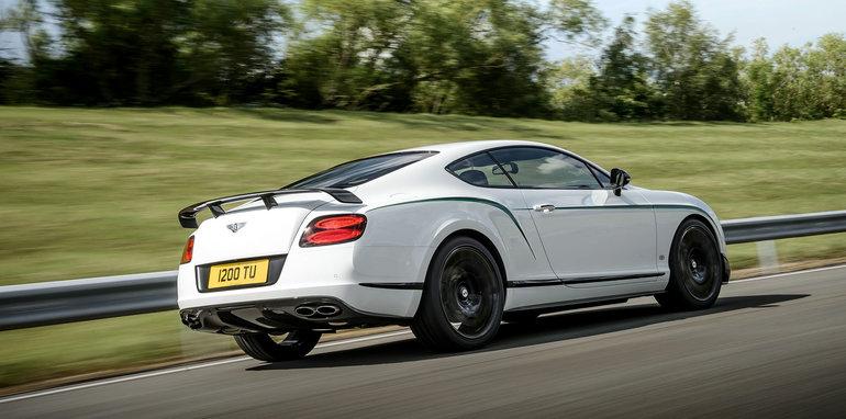 Bentley Continental GT3-R rear