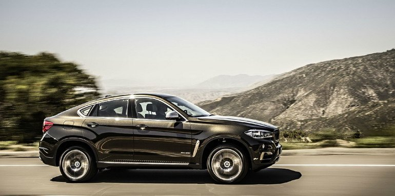 BMW X6 side profile