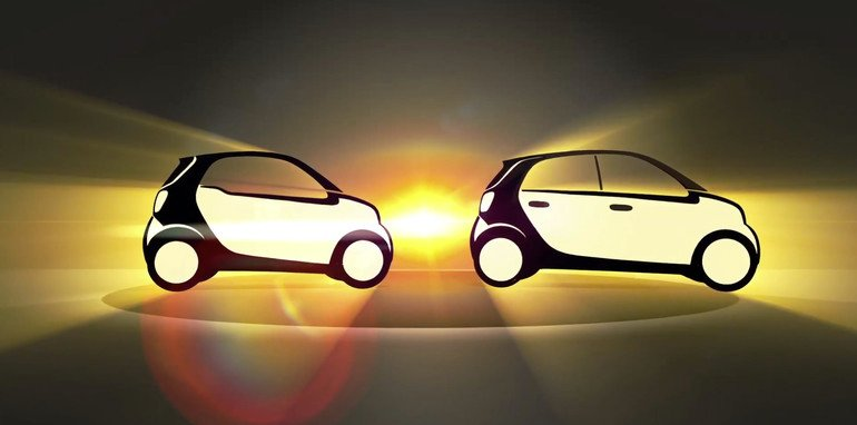 Smart ForTwo and ForFour sketch