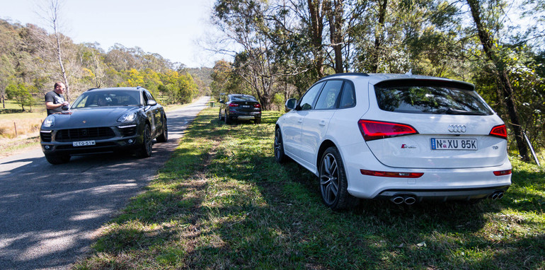 Audi Sq5 V Bmw X4 30d V Porsche Macan S Diesel Comparison Review