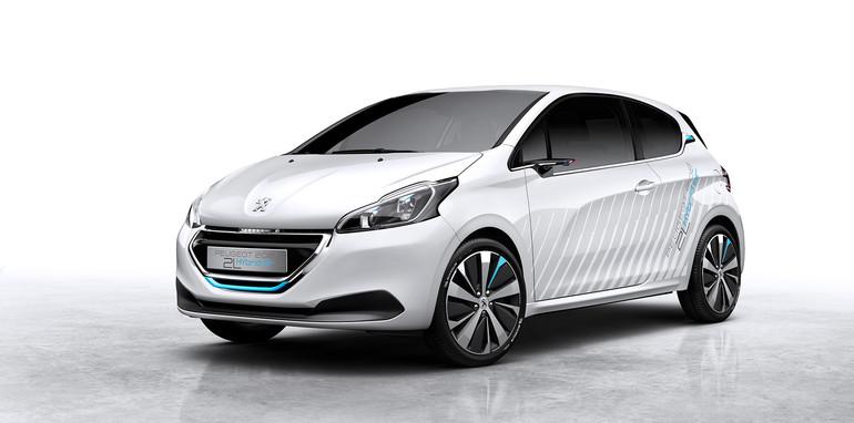 Peugeot 208 HYbridAir tech demo