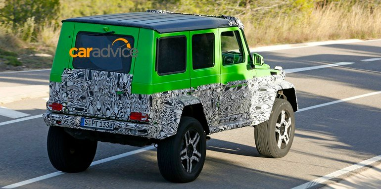 Mercedes-AMG G63 green monster_7
