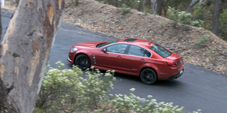 Holden Commodore SS Ford Falcon XR8-96