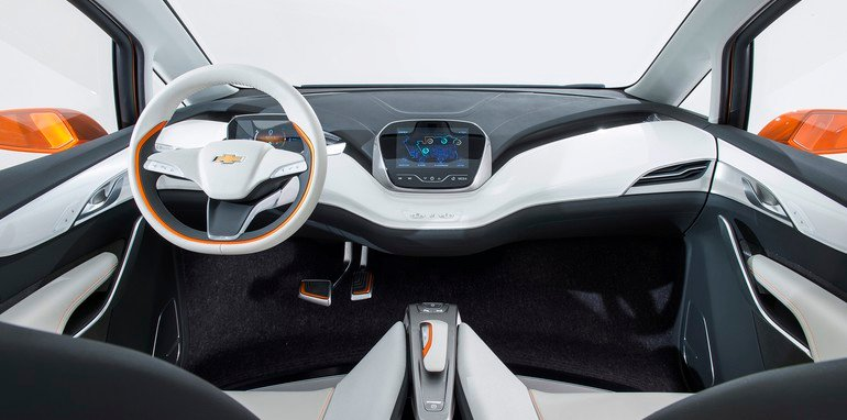 2015 Chevrolet Bolt EV Interior
