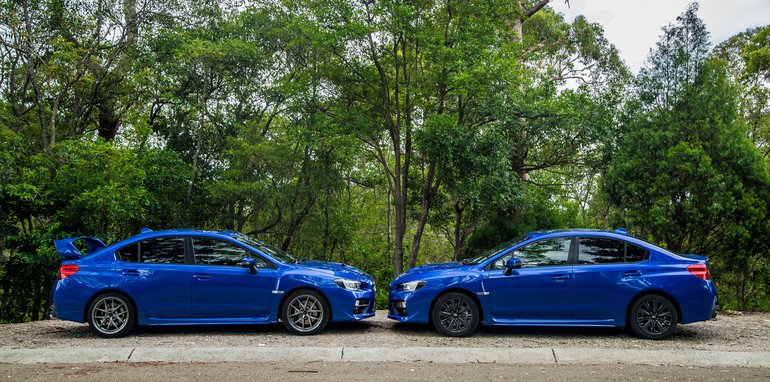 subaru wrx v subaru wrx sti comparison review. Black Bedroom Furniture Sets. Home Design Ideas
