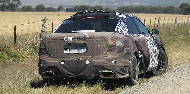 2017 Ford Taurus Spy Photo SHO