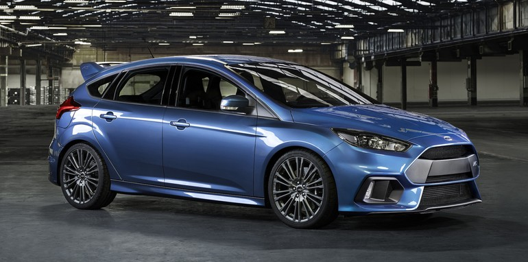 Ford Focus RS official profile