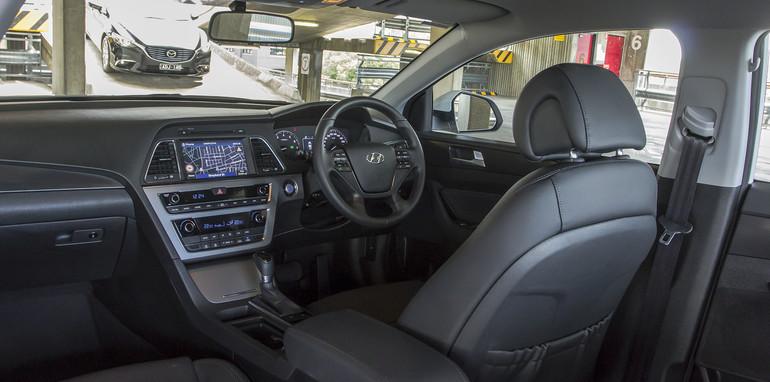 Toyota Camry Mazda 6 Subaru Liberty Hyundai Sonata-111