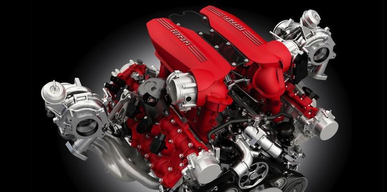 Ferrari 488 GTB - Engine