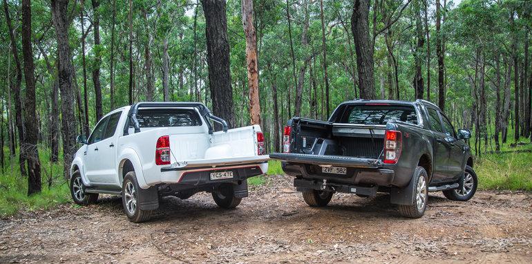 Toyota HiLux v Ford Ranger_11