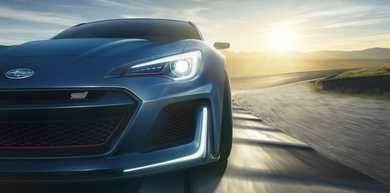 Amazing Subaru BRZ STI Performance Concept Revealed With High